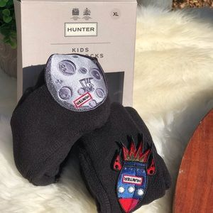 HUNTER🔴Space Socks kids XL New